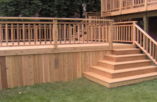 Cedar Decks Alpine Deck
