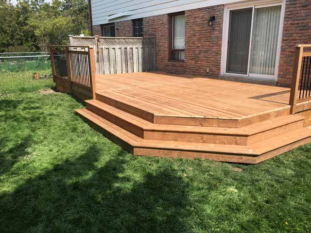 Box Steps Alpine Deck