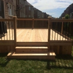78 - Cedar deck, box steps, aluminum railing.jpg
