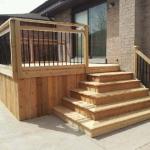 05 - Cedar square corner wrap steps, aluminum railing.jpg