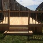 78 - Cedar deck, box steps, aluminum railing.jpg